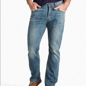 Lucky Brand men 410 athletic fits blue jeans